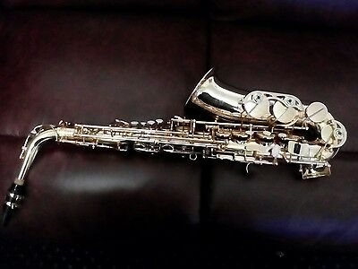 """Alto Saxophone from """"Cranes"""" with Hardcase Case Mouthpiece Carry Strap."""