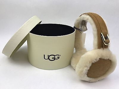 UGG Australia Women's Classic Earmuffs in Chestnut - New in gift box.