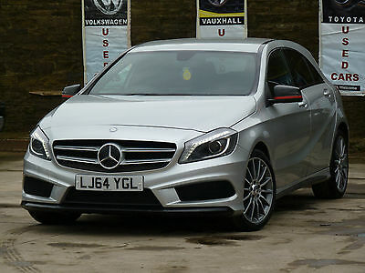 2014 Mercedes-Benz A Class A200 Amg Sport Cdi Auto Silver Damaged Repaired