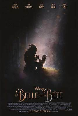 BEAUTY AND THE BEAST POSTER 27x40