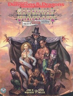 CARNIVAL Ravenloft Advanced Dungeons and Dragons AD&D Wizards of Coast SC