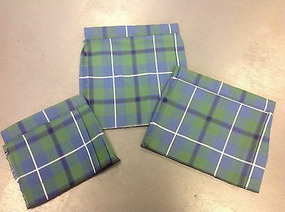 NEW baby Ancient Douglas tartan kilt age 0-6 6-12 12-24 months boy or girl