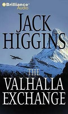 NEW The Valhalla Exchange By Jack Higgins Audio CD Free Shipping