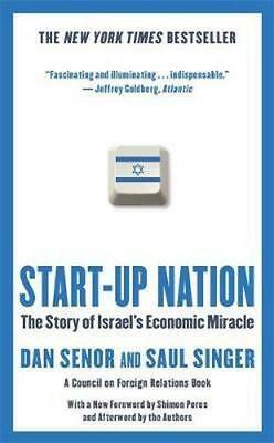 NEW Start-Up Nation By Dan Senor Paperback Free Shipping
