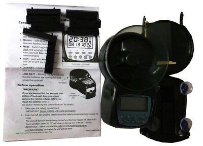 Automatic Fish Feeder for Aquarium Small Tank Programmable Timer Easy Feed Food