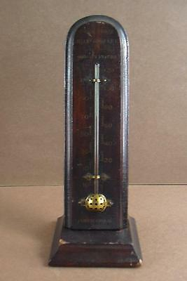 Antique Wooden Thermometer Commander Mill Company Quality Flours Minneapolis MN