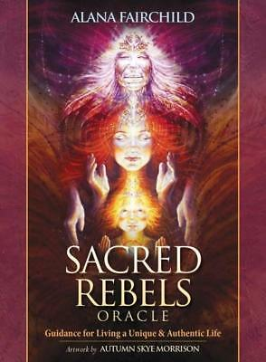NEW Sacred Rebels Oracle Set By Alana Fairchild Card Deck Free Shipping