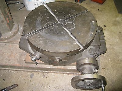 "15"" Troyke Index Rotary Table"