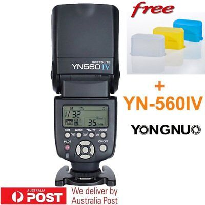 Yongnuo YN-560 IV YN560 IV Wrieless Speedlite Flash for Canon Nikon Pentax AU