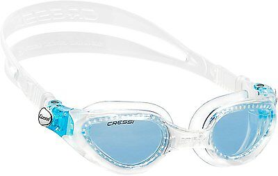 Right Goggles - Clear/Clear - Blue Lens