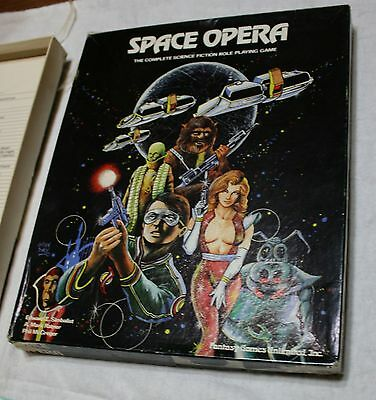 Space Opera | Role Playing (Fantasy Games Unlimited 1980) Complete Boxed Set!