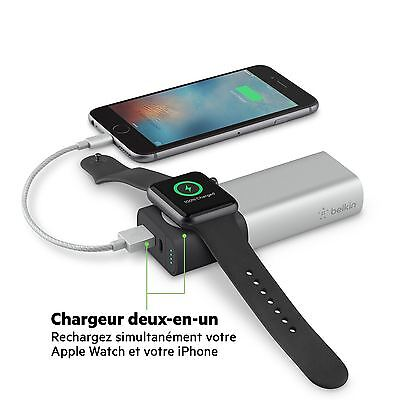 Belkin Valet Chargeur™ Bloc D'alimentation 6700mAh pour Apple Montre+iPhone