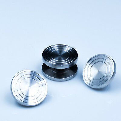 EDC stainles Steel Fidget Toy Thumb Button for 608 spinner cap Torqbar  Munsen • $11.90 - PicClick