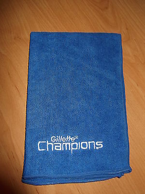 Bnip Gillette Microfibre Sports Towel Travel Size Ideal Stocking Filler Free P&p