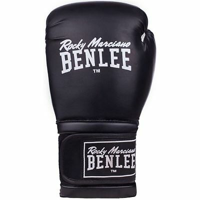 BENLEE leather boxing gloves SUGAR DELUXE - White