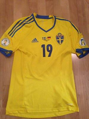 Sweden Match Issued Jersey Trikot Shirt
