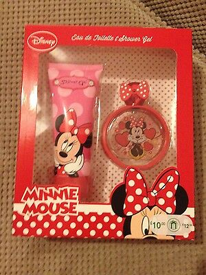 Disney minnie mouse eau de toilette and shower gel gift set