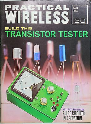 Practical Wireless  May 1969 - Transistor Tester -  Pulse Circuits in Operation