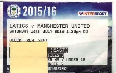 2016/17    Wigan Athletic    v    Manchester United    Jose Mourinho 1st Game