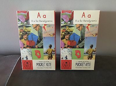 Bundle Of 2x POCKET KITE's - LADYBIRD VINTAGE COLLECTION. Brand New in Box