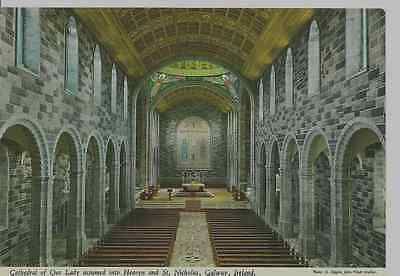 Old Postcard: Cathedral of Our Lady, Galaway,Co. Galway, Ireland.