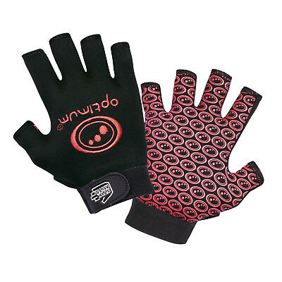 Optimum Stik Mit Rugby Gloves Black / Red