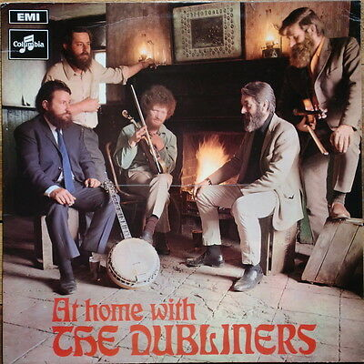 Vinyl - THE DUBLINERS At Home - Stereo LP - Folk irlandés - Irish - 1969 EMI Rec