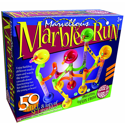 House of Marbles : 50 Piece Marble Run