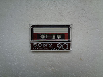 Vintage Audio Cassette SONY UCX-S 90 * Rare From Japan 1982 * Unsealed