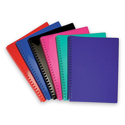 6 x Bulk Lot Display Book Folder A4 Protect Presentation 20 Pockets Refillable