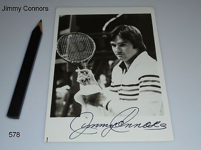 Jimmy Connors - Autogramm - signiert - Autograph - Tennis - signed