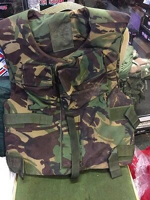 British Army Issue Stab Proof DPM Body Armour Size 190/120