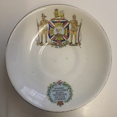 Boer War Commemorative saucer