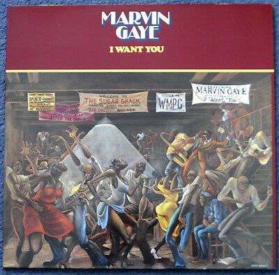 Marvin Gaye. I Want You. Motown. 523012. Ex condition.