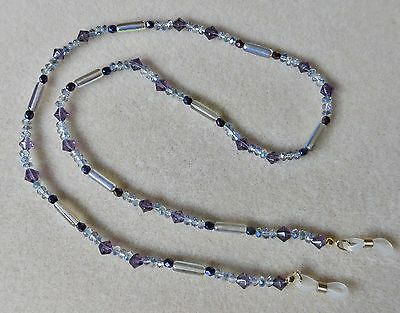 NEW beaded eye-glasses spectacle neck strap, cord, chain