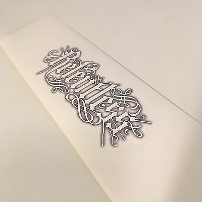 Rare Promotional RELENTLESS Energy Drink Tattoo Style Sticker