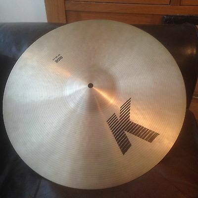 Zildjian classic K Ride Cymbal 18 -  Excellent Condition