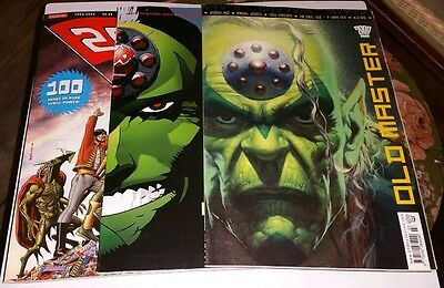 HUGE 140+ issue collection of 2000AD and related comics some free gifts Dredd