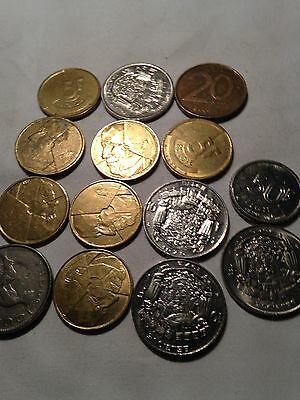 Joblot of very old Belgique coins - 1920's onwards - see all pictures!