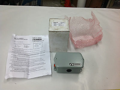 "Omega PX154-025DI Pressure Transducer, 0-25"" WCD Range, 24VDC Excitation. NEW"