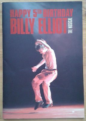 Billy Elliot programme Victoria Palace Theatre 5th Birthday 04/2010 LDN39 ed.