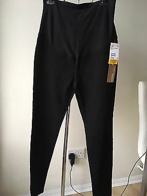 H&M mama slim high rib matenity jeans black new with tag Size 40