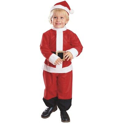 Santa Costume Baby/Toddler Christmas Outfit Suit Fancy Dress