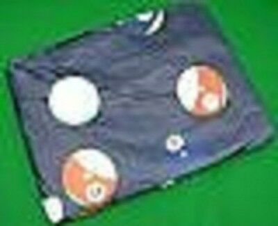 6ft Pool Table Cover (spots+stripes ball design)
