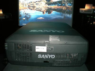 Sanyo Xf47 Projector Hire -15000 Lumens Brand New Lamps  Cheapest In The Uk!