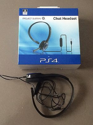 Casque chat Headset Ps4 - Licence officielle - comme neuf