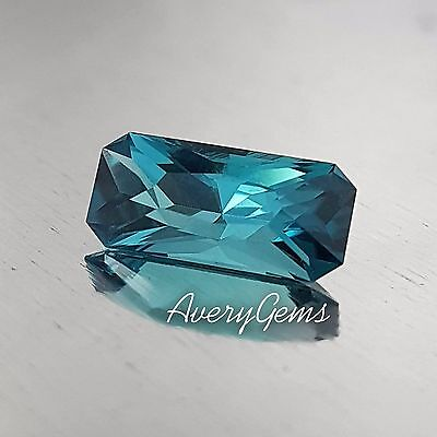Tourmaline Indicolite 2.3 Ct Loose Gemstone Natural Precision Cut By AveryGems