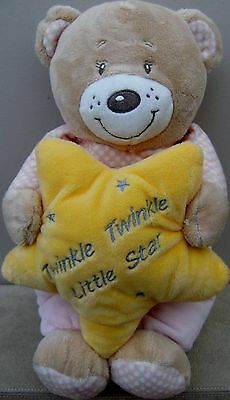 Gorgeous Cuddles Collection Pink TEDDY BEAR Soft Plush Toy For Baby Girl