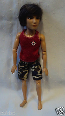 """Liv Making Waves Jake Doll Articulated 12"""" Male Doll"""