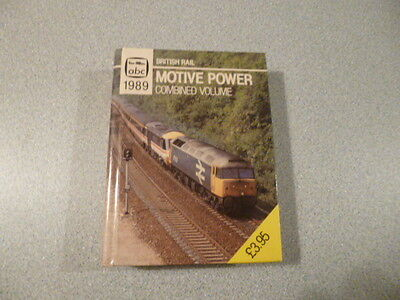 1989 Ian Allan Abc British Rail Motive Power Combined Volume - Unmarked